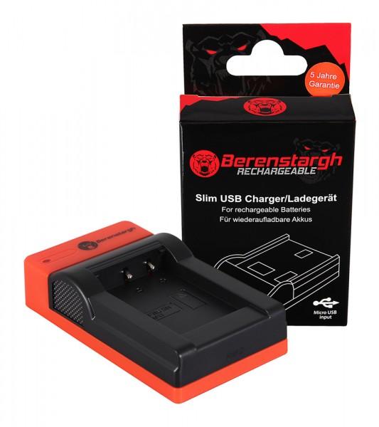 Berenstargh Slim Micro-USB Ladegerät f. Sony NP-BX1 BX BX1 NP-BX1 Cybershot DSC HX300 DSC HX50V DSC