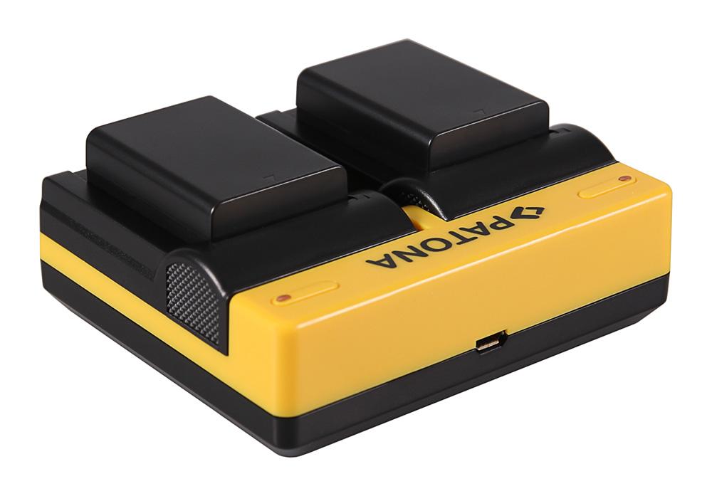 Synchron USB Ladegerät f Samsung BP1030 NX NX200 NX-200 NX300 NX-300 von PATONA