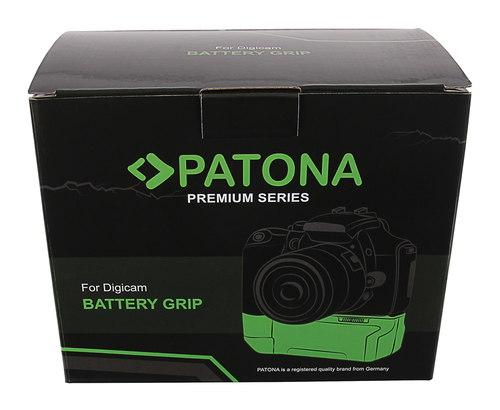 PATONA Premium Batteriegriff für Panasonic GH5 DMW-BGGH5RC für 1 x DMW-BLF19 Akk