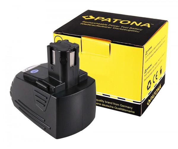 PATONA Battery f. Hilti SBP10 SBP12 SFB121 00315082 NiMh 3000mAh