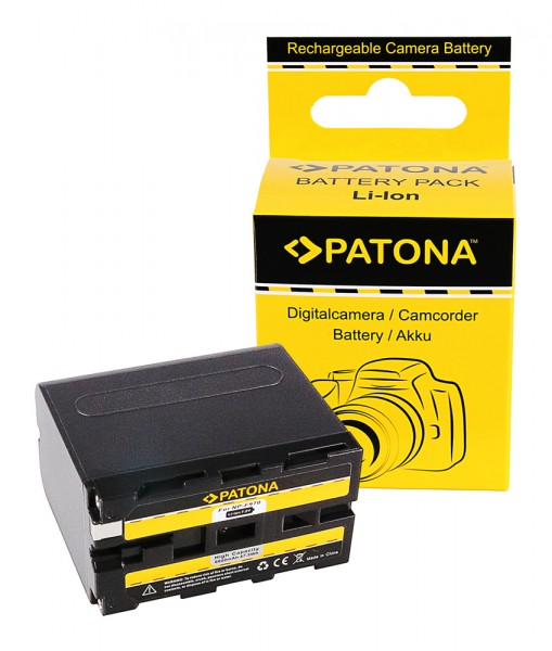 PATONA Battery f. Sony NP-F970 NP-F960 NP-F950 DCR-VX2100 HDR-FX1