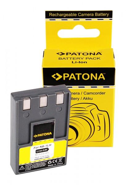 PATONA Akku f. Canon IXUS V/V2/V3/300/400/430/500 NB-1LH NB1LH