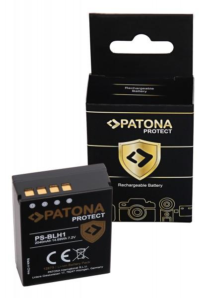 PATONA PROTECT Battery f. Olympus BLH-1 OM-D EM-1 Mark 2 EM-1 Mark II BLH-1 E-M1X