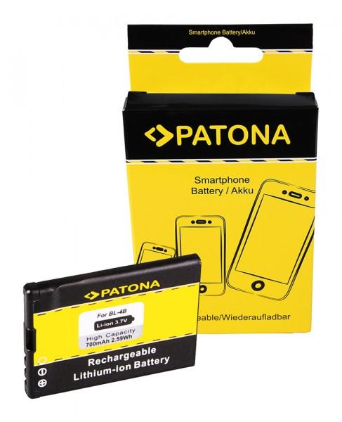 PATONA Batterie pour Nokia 6111 Prism N75 N76 6111 1606 2505 2630 2660 2760 3606
