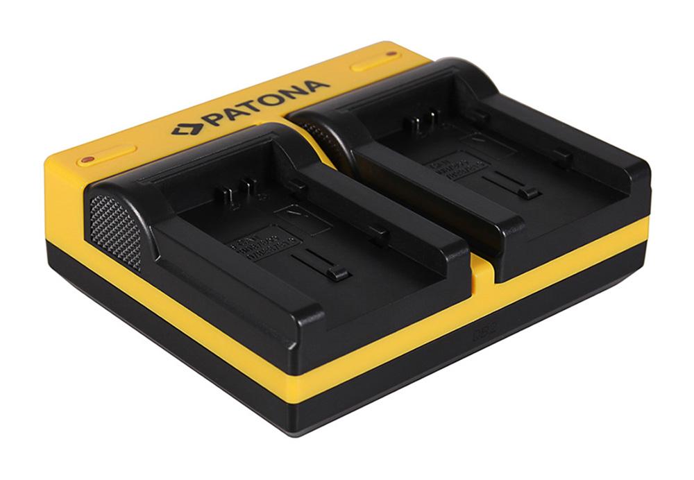 Canon BP-808 BP-809 BP-819 FSxx FS10 FS-10 FS100 FS-100 FS Dual LCD Ladegerät f