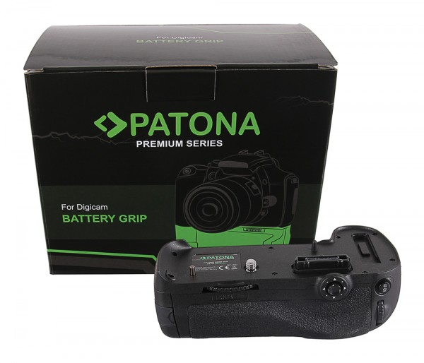 PATONA Premium Battery Grip for Nikon D800 D800E D810 D810A MB-D12H for 1 x EN-EL15 batterie incl. IR wireless control
