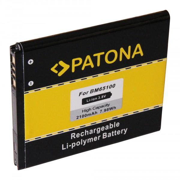 PATONA Batterie pour HTC Desire 601 Desire 510 601