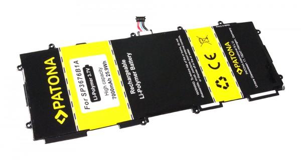 PATONA Battery f. Samsung Galaxy Note 10.1 GT-N8000, GT-N8010, GT-N8020, Galaxy Tab 10.1 GT-P7100, GT-P7500, GT-P7510, GT-7511, Galaxy Tab 2 10.1 P5100, P5110 SP3676B1A