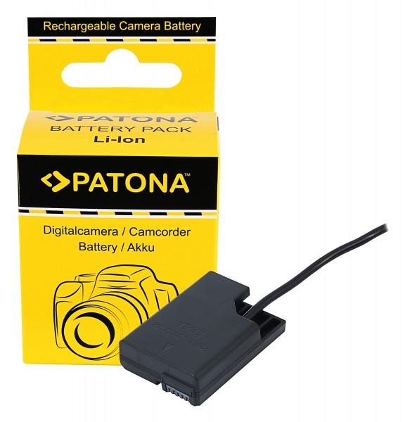 PATONA D-TAP Input Battery Adapter for Nikon EN-EL14 Coolpix P7800 P7700 P7000 D5300