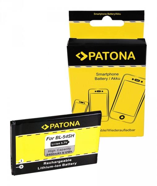 PATONA Akku f. LG Optimus LTE3 F260 F7 LG870 Net Dual P698 D405 BL-54SH