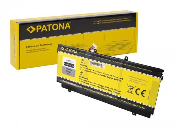 PATONA Batterie pour HP SH03XL HSTNN-LB7L Spectre X360 13-AC013TU 13-AC015TU