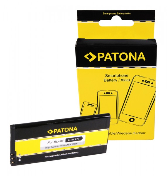 PATONA Akku f. Nokia Lumia 630 Lumia 635 Lumia 636 Lumia 638 BL-5H