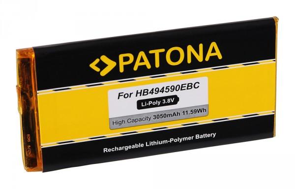 PATONA Battery f. Huawei Ascend G620, G620s, G620S-L02, G620S-L03, G628, G628-TL00, HB494590EBC
