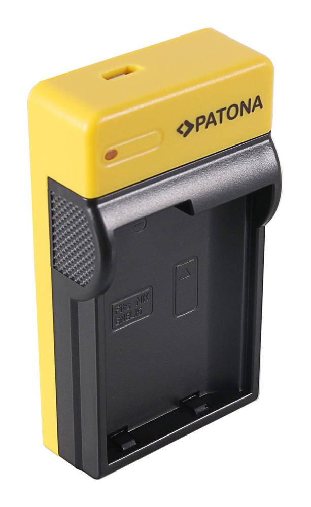 Patona Slim Micro Usb Charger F Nikon En El15 1 V1 En