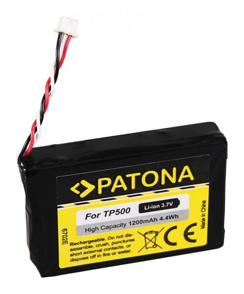 PATONA Batterie pour Blaupunkt TP500 TravelPilot 500 700