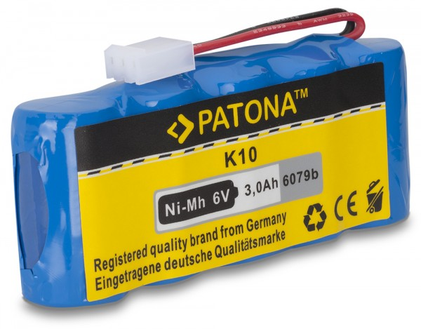 PATONA Batterie pour Bosch 9 500 005 Roll-Lift K10 Rollfix 861E D870E D962E FDD087