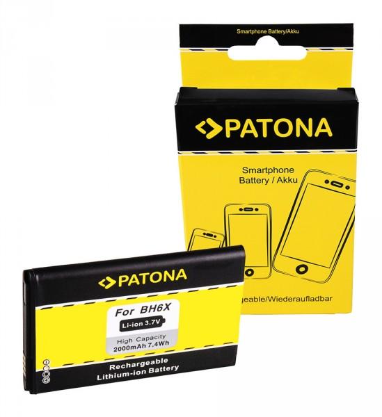 PATONA Akku f. Motorola BH6X SNN5893A ATRIX 4G (MB860) Droid X (MB810)