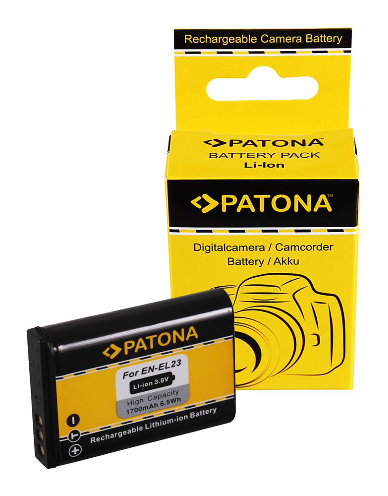 Patona Battery F Nikon Coolpix P600 Nikon En El23 Enel23