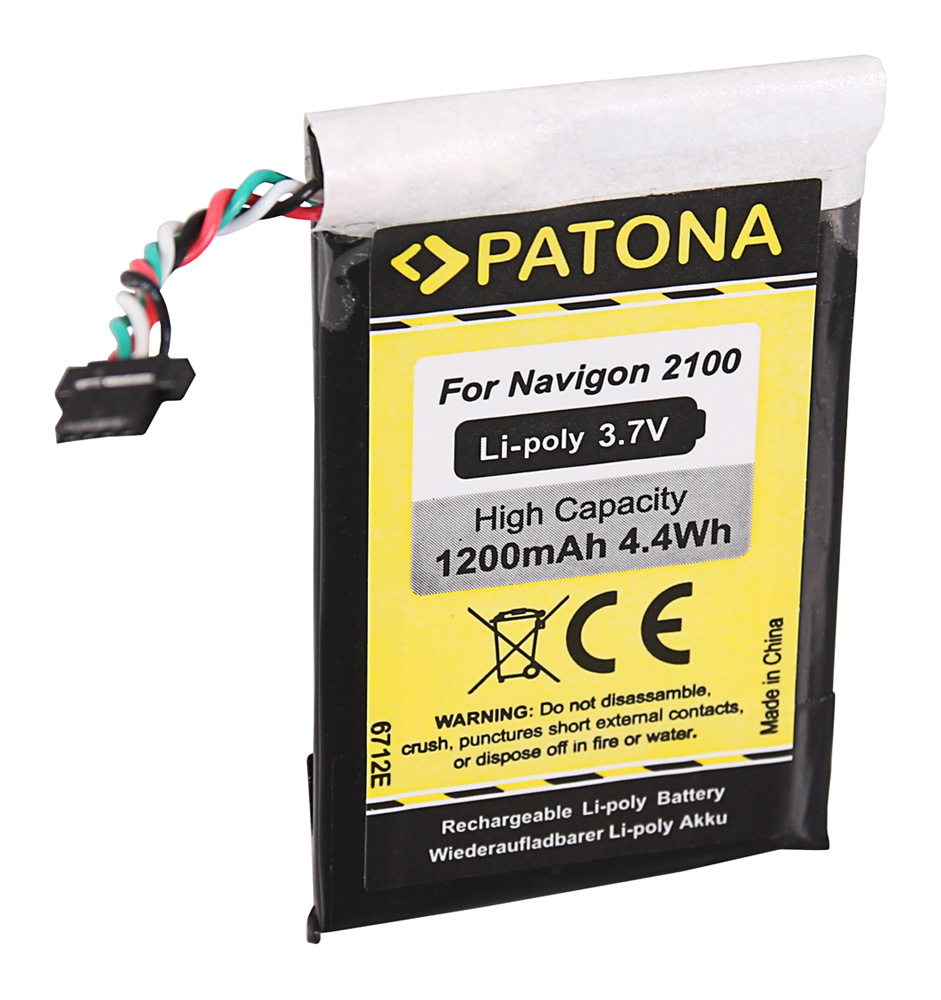 Power Smart 800 mAh Batterie pour Navigon 2200 2210