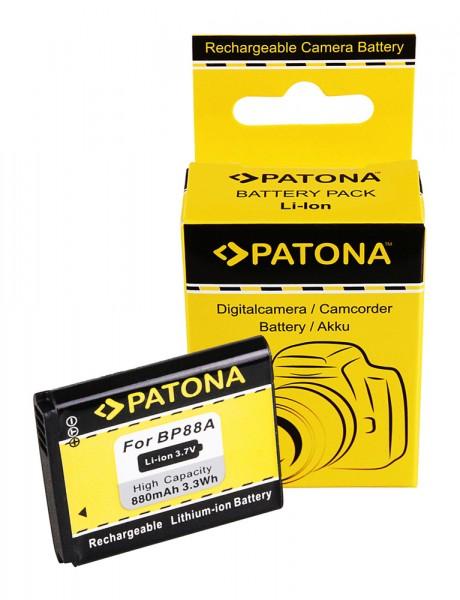 PATONA Battery f. Samsung BP88a DV200 DV300 DV300