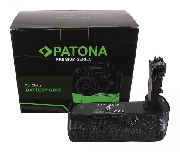 PATONA Premium Battery Grip for Canon EOS 5D Mark IV BG-E20RC for 2 x LP-E6N batteries incl. IR wireless control