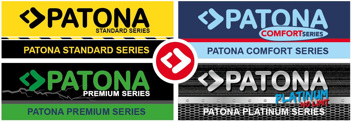 PATONA Standard, Komfort, Premium, Platinum