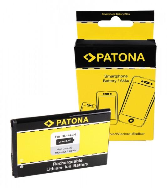 PATONA Akku f. LG P700 Optimus L7 E440 E460 BL-44JH EAC61839001