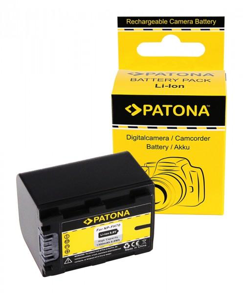 PATONA Battery f. Sony NP-FH70 NP-FH100 NP-FH30 NP-FH40 NP-FH50