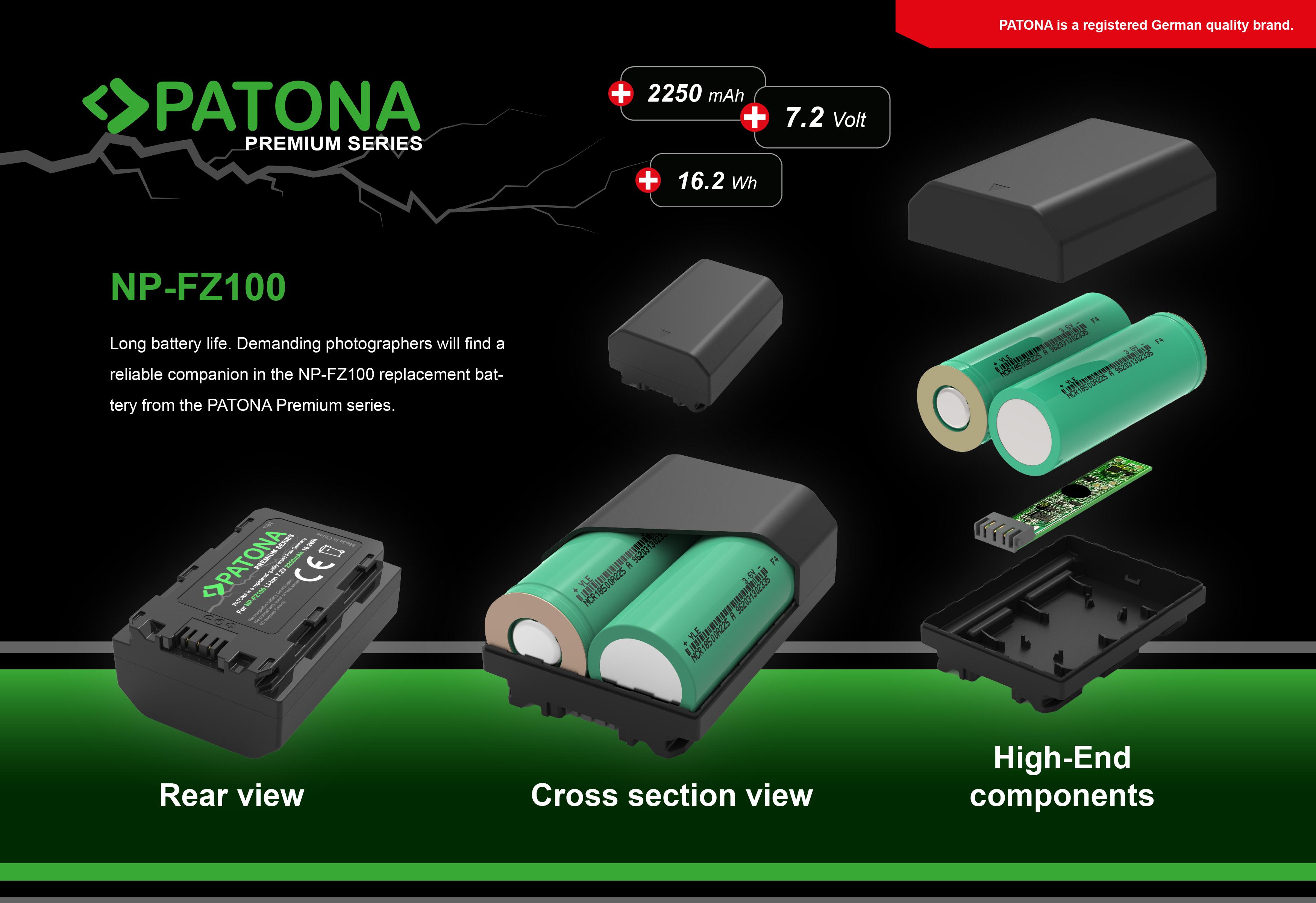 battery sony np fz100