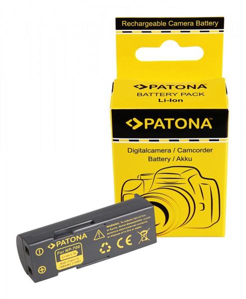 PATONA Akku f. Samsung Digimax L77 MINOLTA DG-X50-K DG-X50-R DG-X50-S