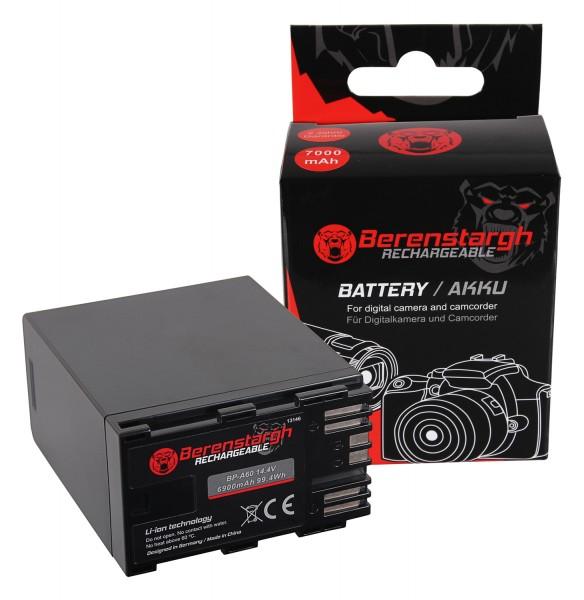 Berenstargh Battery f. Canon BP-A60 EOS C200 C200B C200 PL C300 Mark II XF705 CA-CP200L 6900mAh