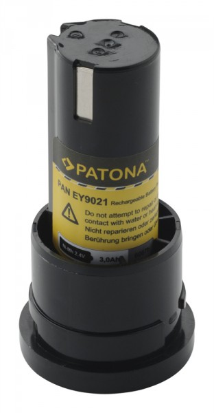 PATONA Battery for Panasonic EY9021 EY3652 EY503 Pressofix 208 SDF210