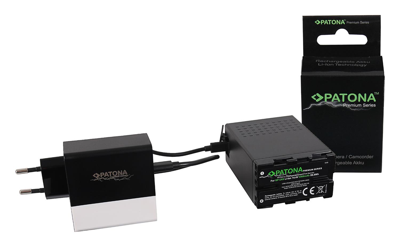 Sony BP-U Akkus BP-U30//U60//U90//U95 2A Kanal PATONA Premium 4-fach Ladegerät