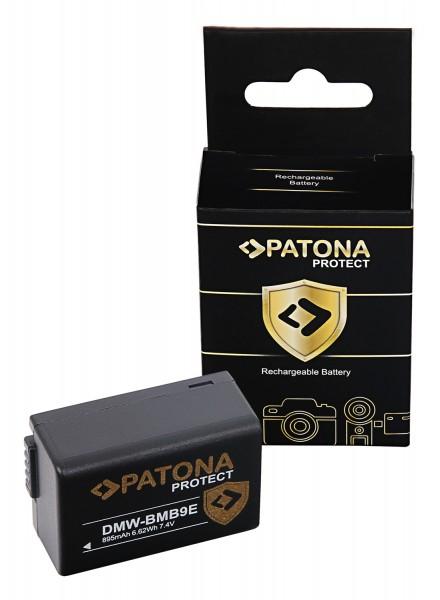 PATONA PROTECT Akku f. Panasonic DMC-FZ40 FZ45 FZ 48 FZ100 BMB9