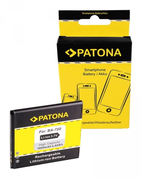 PATONA Battery f. Sony Ericsson BA750 Xperia Arc LT15i Xperia Arc S LT18i