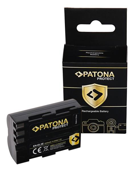 PATONA PROTECT Battery f. Nikon D700 D300 D200 D100 D80 D70 D50 EN-EL3e