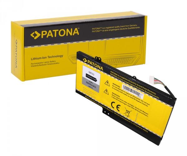 PATONA Akku f. HP NP03 Pavilion 13 13-A010DX X360 760944-421 HSTNN-LB6L NP