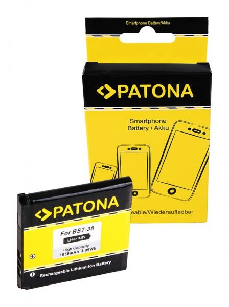 PATONA Akku f. Sony Ericsson BST-38 C510 C902 C905 Jalou (F100i) K770i K850i