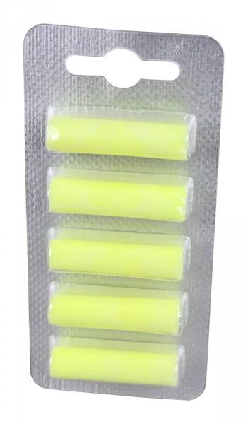 PATONA 5 Deo Sticks Duftstäbchen für Staubsauger gelb Zitrone yellow lemon