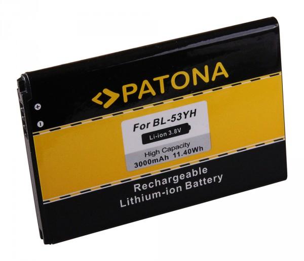PATONA Battery f. LG D855 F400 G3 BL53YH BL