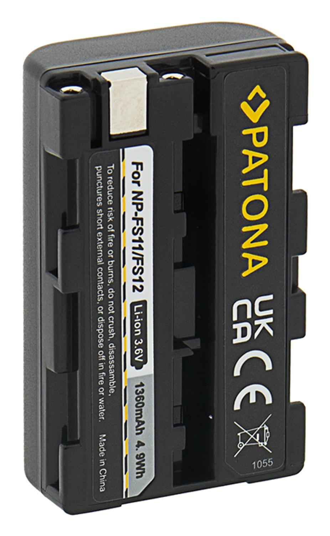 PATONA 4in1 Ladegerät f SONY NP-FS10 FS11 NP-FS21 DCR-PC5E PC6 PC9
