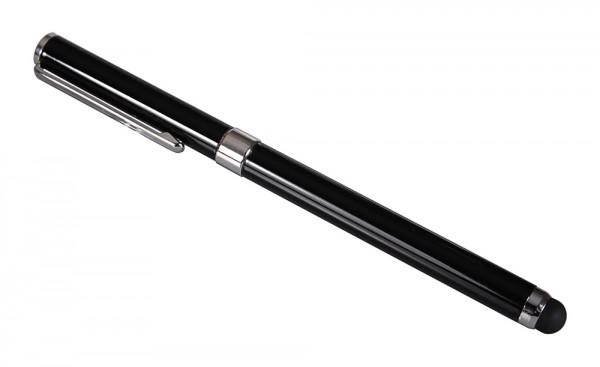 PATONA 2in1 Touchpen Kugelschreiber edles schwarz black