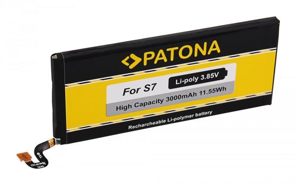 PATONA Battery f. Samsung S7 Galaxy S7 SM-G930F EB-BG93