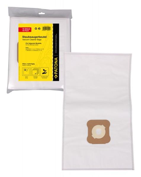 PATONA 10 vacuum cleaner bag multilayered fleece f. Kirby G1 G2 G3 G4 G5 G6 G7 G8 G9 G10