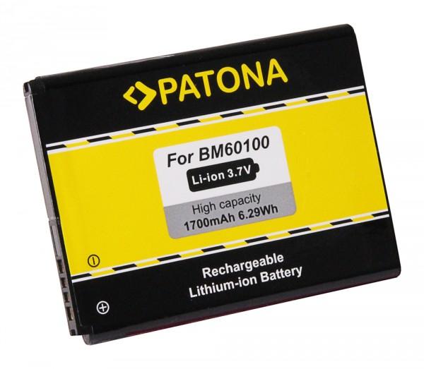 PATONA Batterie pour HTC One SV Desire 500 One SV One SV One SV C520 Desire One