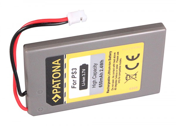 PATONA Battery f. Sony Playstation 3 PS3 Playstation 3 CECHZC2E Sixaxis LIP1