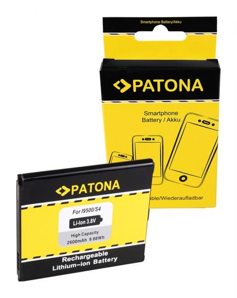 PATONA Batterie pour Samsung Galaxy S4 (I9505) Altius GTI9500 GT-I9500 GTi9502