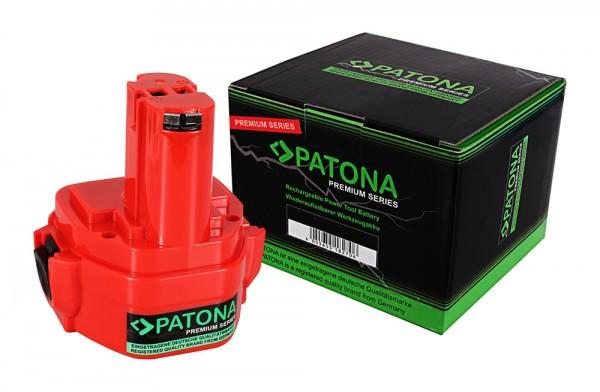 PATONA Premium Battery f. Makita 1234 1050 4000 5093 6000 8000 1050D 1050DA 1050DRA