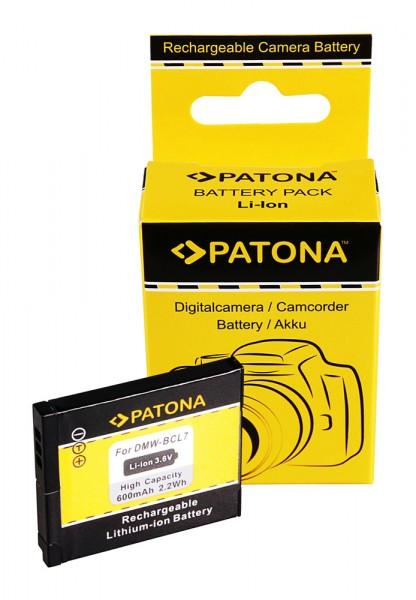 PATONA Akku f. Panasonic DMW-BCL7E SZ9 SZ3 XS1 FS50 FH50 F5 BCL7