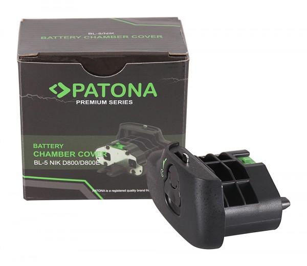 PATONA Compartiment batterie BL-5 pour Nikon D800 D800E pour Poignée d'alimentation MB-D12 MB-D18